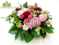Цветочная корзина «Лаура»