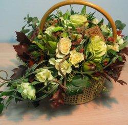 Представительная корзина роз