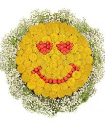 Цветочный смайлик Любоff